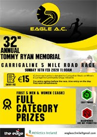 Carrigaline 5 mile race nr Cork City