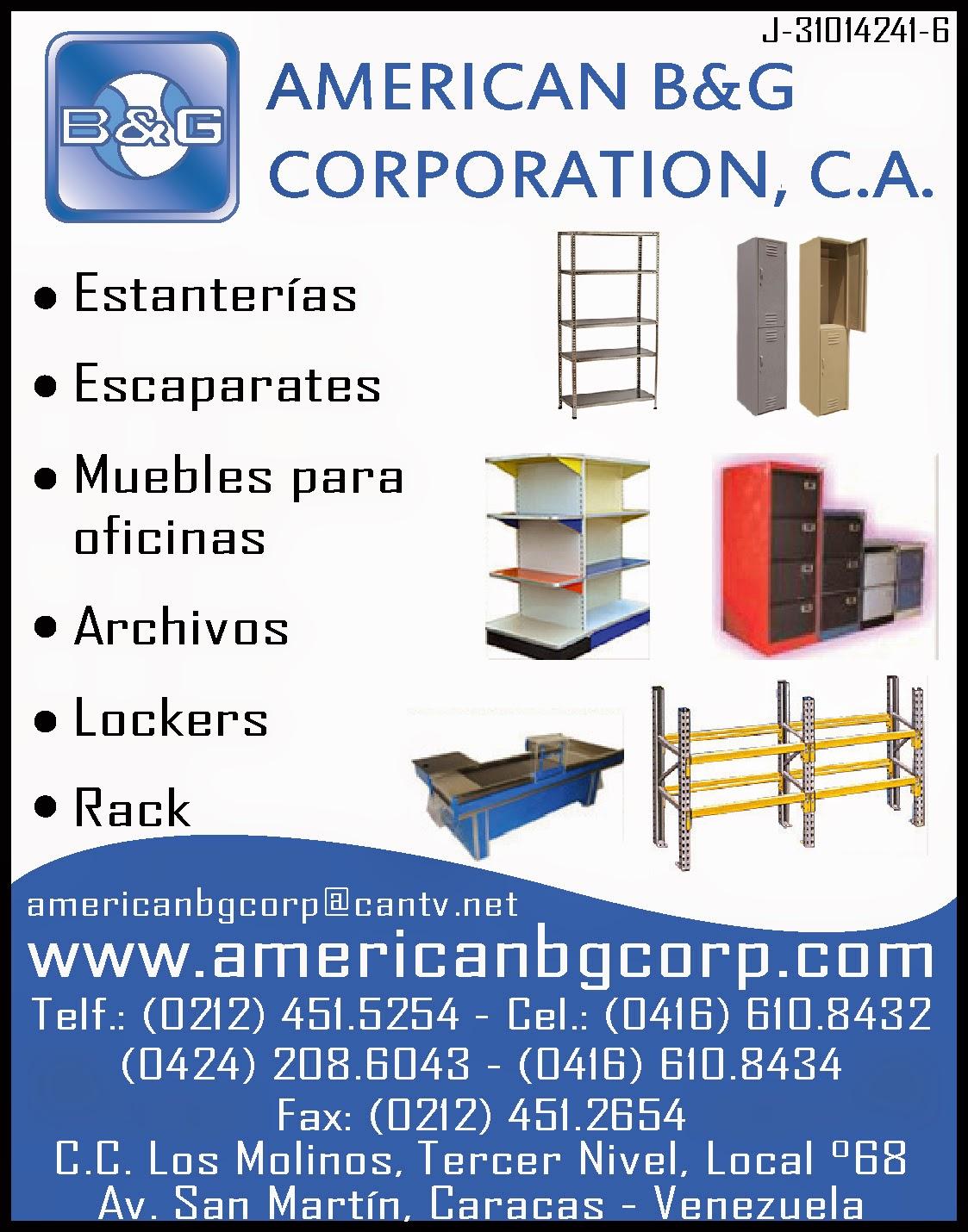 AMERICAN B&G CORPORATION en Paginas Amarillas tu guia Comercial