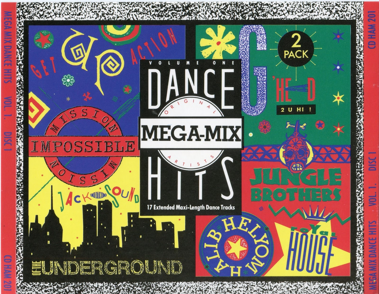 Mega mix dance hits vol 1 cd compilation flac 1989 for Dance music 1989