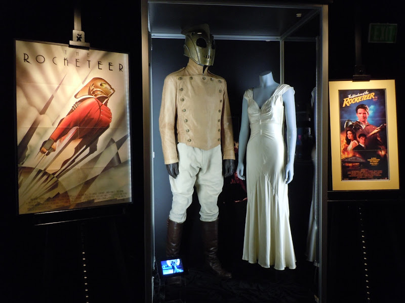 The Rocketeer movie costume exhibit