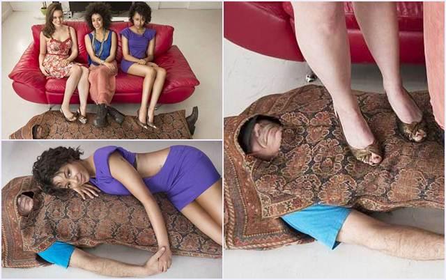 manusia karpet