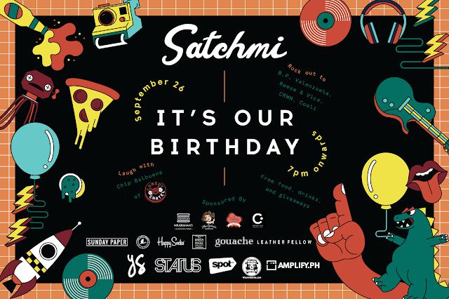 Satchmi Turns 1 poster
