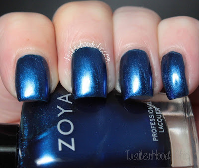 zoya flair review swatch estelle