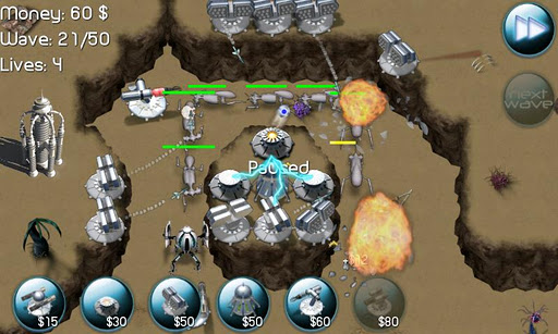 Nexus Defense: Desert Storm v1.3a Apk