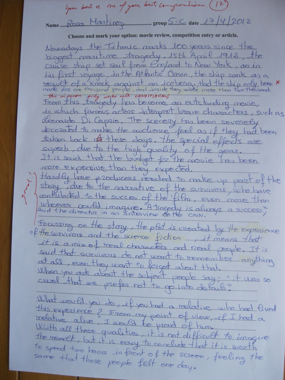 5 paragraph essay about titanic Descriptive essay about titanic february 5, 2018 uncategorized hermeneutic dissertation 737ng cockpit descriptive essay, apwh essay help john dickinson essay dana gioia essay my husband is my best friend essay athena role in the iliad essay iima pgpx essays on education.