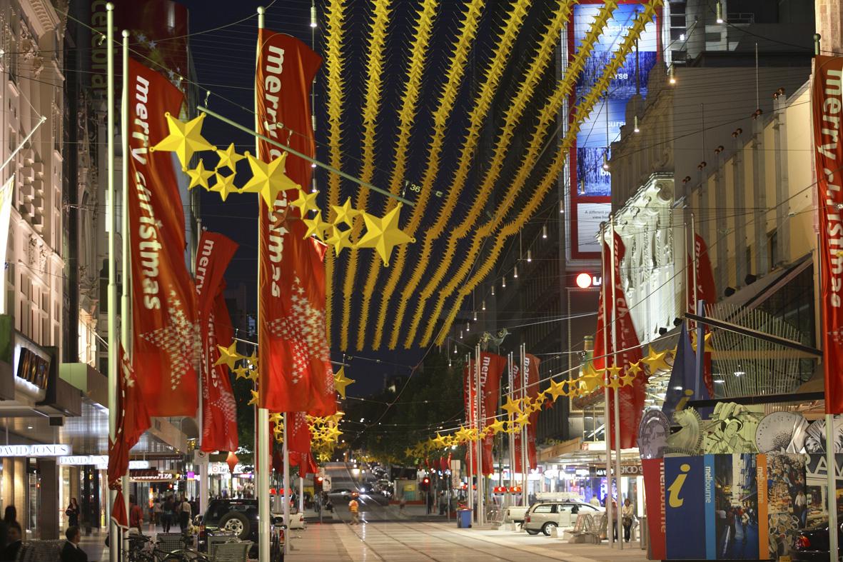 Ian Dryden Christmas In Melbourne