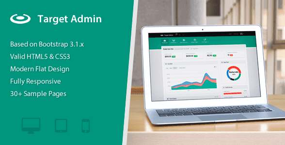 Target - Responsive Bootstrap 3 Admin Template