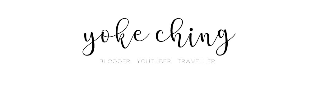 YokeChing ►Beauty | Lifestyle | Food Blogger