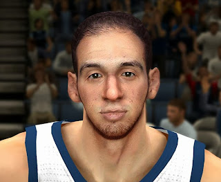 NBA 2K14 Realistic Kosta Koufos Cyberface Mod