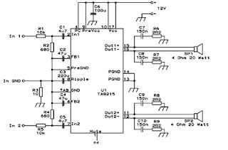 Subwoofer Car Power Amplifier