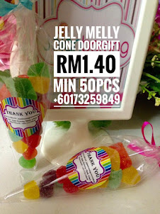 JELLY MELLY CONE DOORGIFT