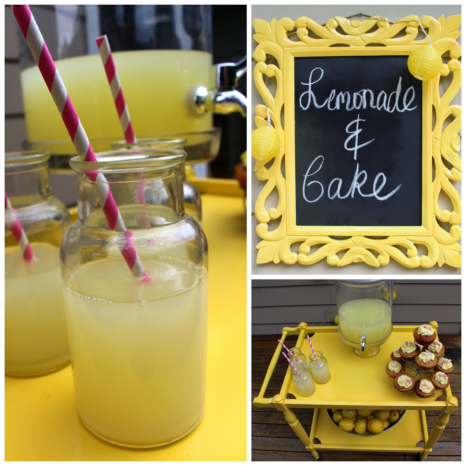 how to make a lemonade stand easy