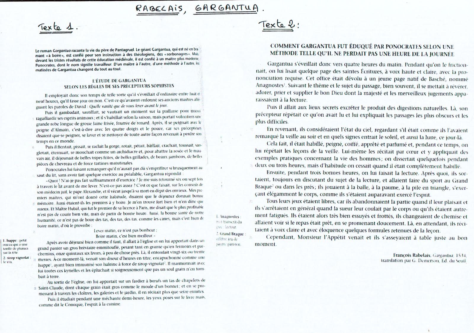 Corrig dissertation bac franais 2006