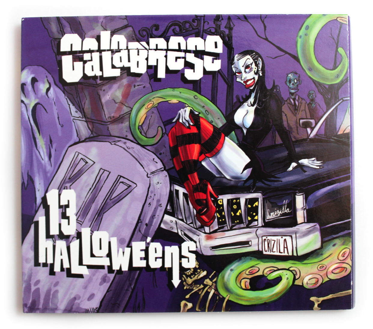 while trying to think about a topic to blog about i thought it would be fun to listen to each song from our first album 13 halloweens and write down all - Calabrese 13 Halloweens