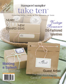 Cover Girl of Take Ten Winter 2011