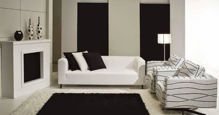 15 black and white living room designs and ideas for Living room 10 x 15
