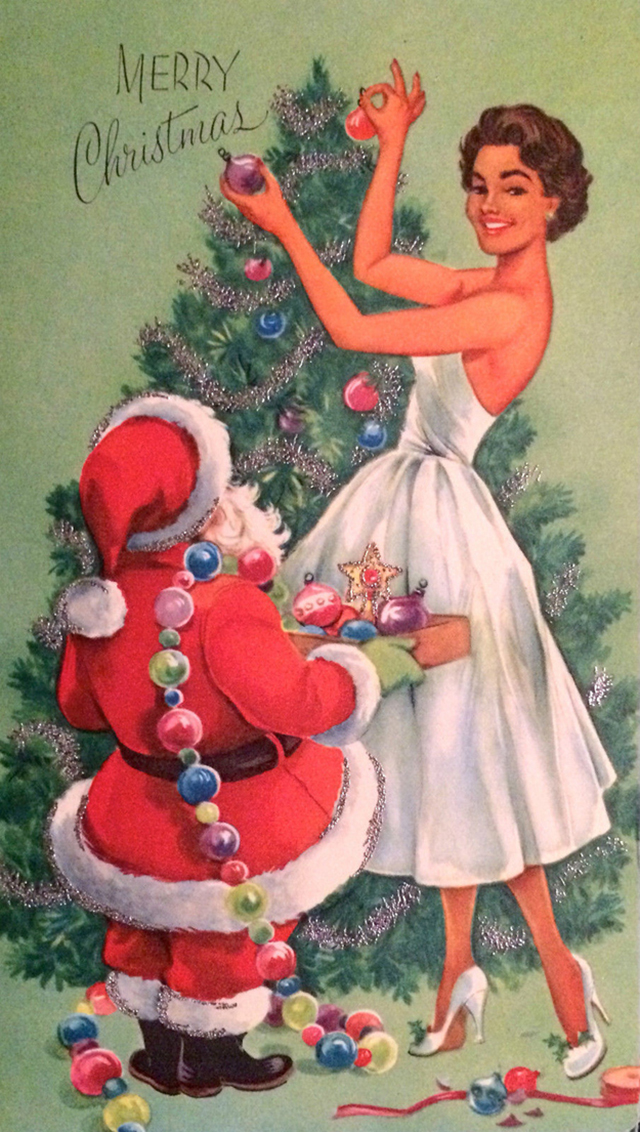 These Festive African-American Christmas Greeting Cards From the ...