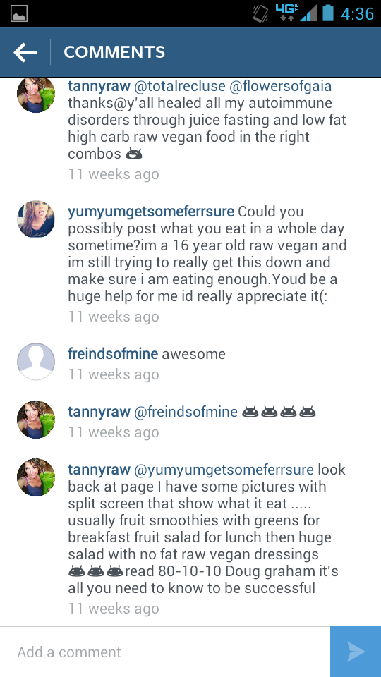 Tanya States This Diet Has Healed All Her Autoimmune Disorders And Advises A 16 Year Old What To Eat Follow