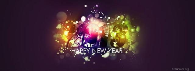 Ảnh bìa facebook đẹp chúc mừng năm mới
