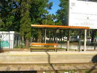 parada de tren habilitada en el Paso Molino