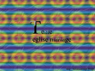 Texte eglise mariage