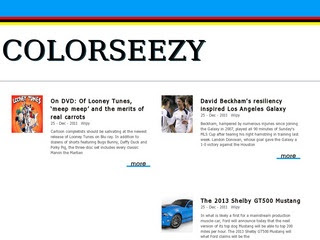 Colorseezy Blogger Template