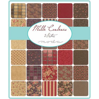 Moda Mille Couleurs Fabric by 3 Sisters for Moda Fabrics