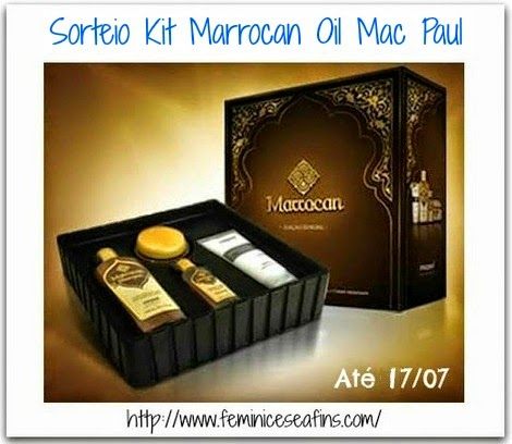 Sorteio Kit Mac Paul