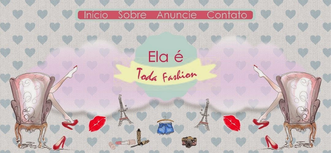 Elá é toda fashion