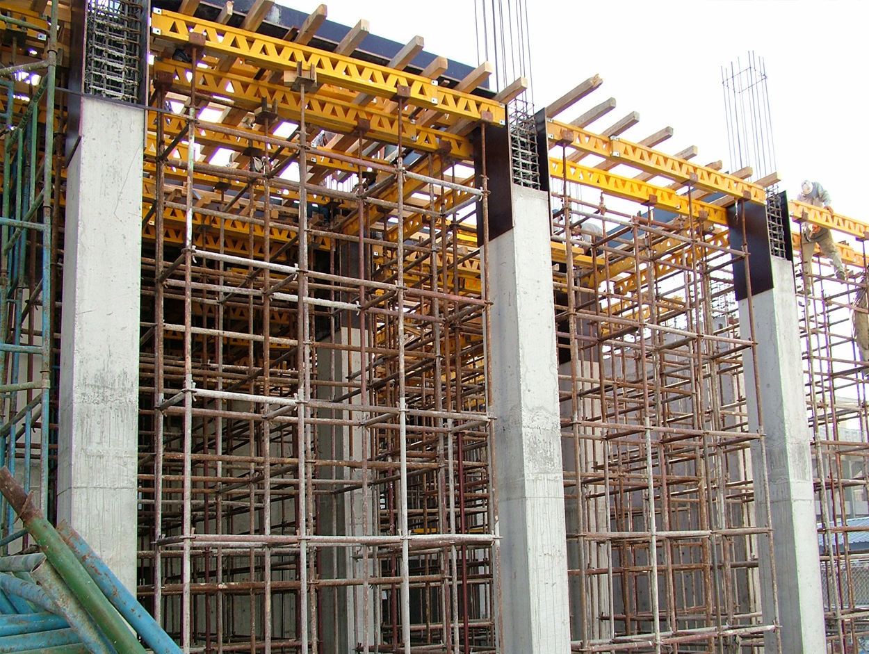 Scaffolding And Shuttering : Steel shuttering scaffolding material in jaipur rajasthan