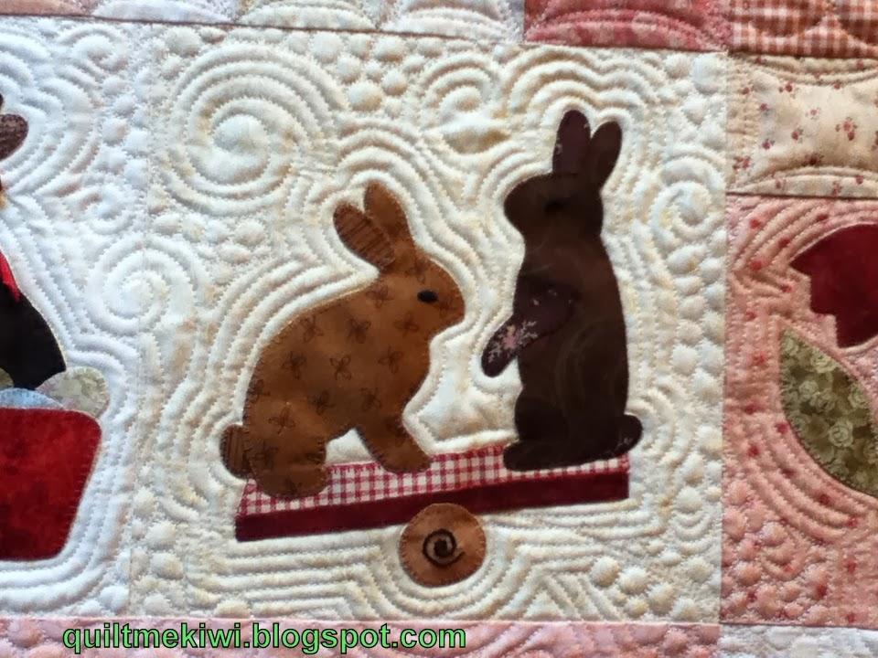 quiltmekiwi: *Rabbits *Prefer * Chocolate* : madeira quilt - Adamdwight.com