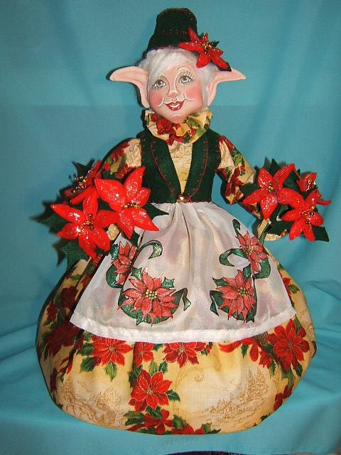 Sherrie the Poinsettia Elf