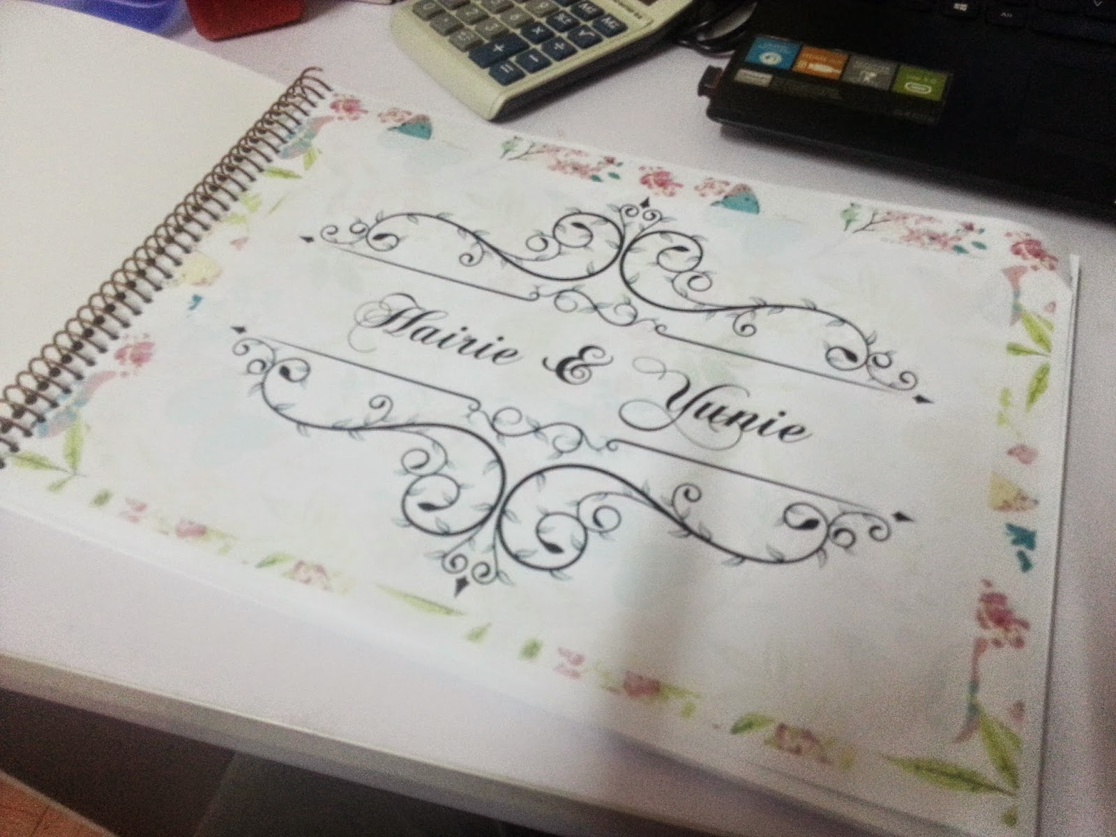 custom made guest book
