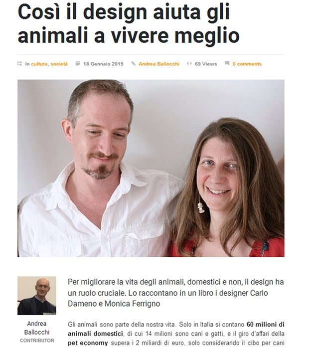 Pet Economy, design e aziende collaborano