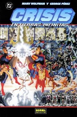 Crisis en Tierras Infinitas - DC Comics