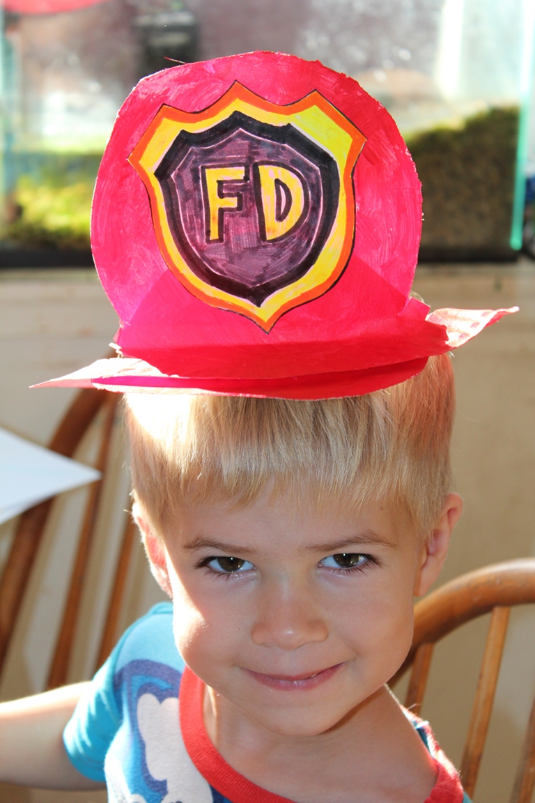 Fireman\'s Hat | Creative Learning