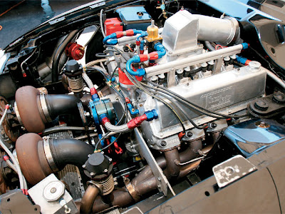 Ford Mustang Cobra Engine