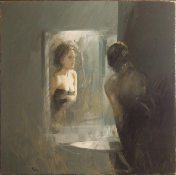 Momentaneamente la riflessiva - Specchio che si rompe da solo ...