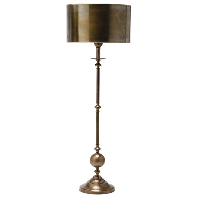 LAYLA GRACE ARTERIORS VANCE ANTIQUE BRASS CANDLESTICK LAMP