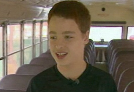 Student Drives Bus to Safety
