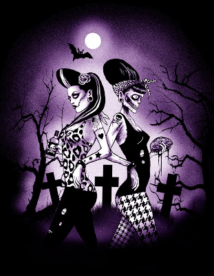 Rockabilly Zombie Girls (by ScreamingDemons)