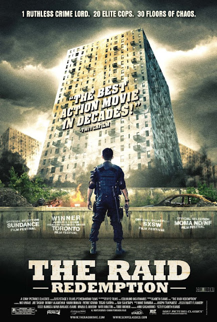 The Raid:Redemption 720p HDRip 800MB