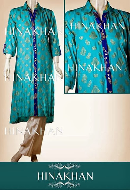 Hina Khan Midsummer Dresses Latest Collection 2013 For Women