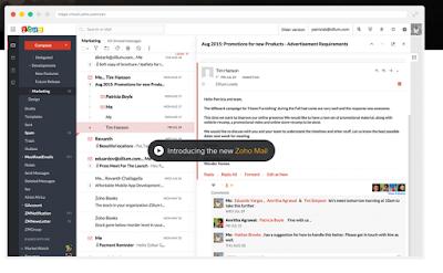 Zoho Mail, un Google Apps gratuit, A Unix Mind In A Windows World