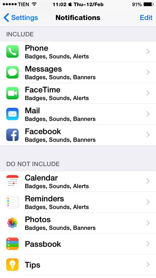 Thiết lập trong iOS 8 để tiết kiệm pin iPhone 1