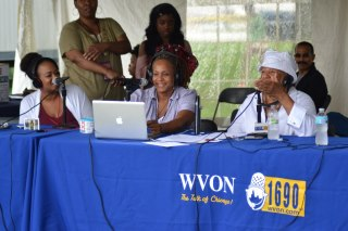 Janice Temple Guest of Dr. Carol Adams on WVON Radio 1690AM The Talk of Chicago