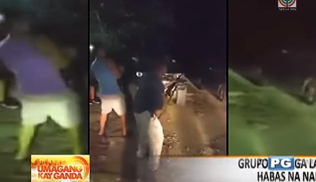 Viral indiscriminate firing video recorded in Guam