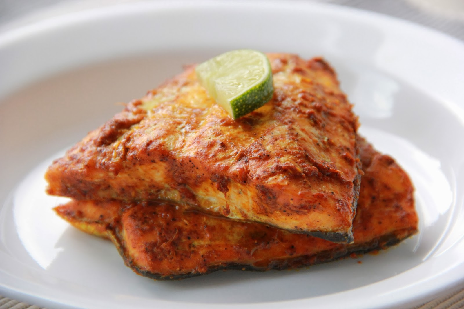 Patel Brothers: Spiced Grilled Salmon