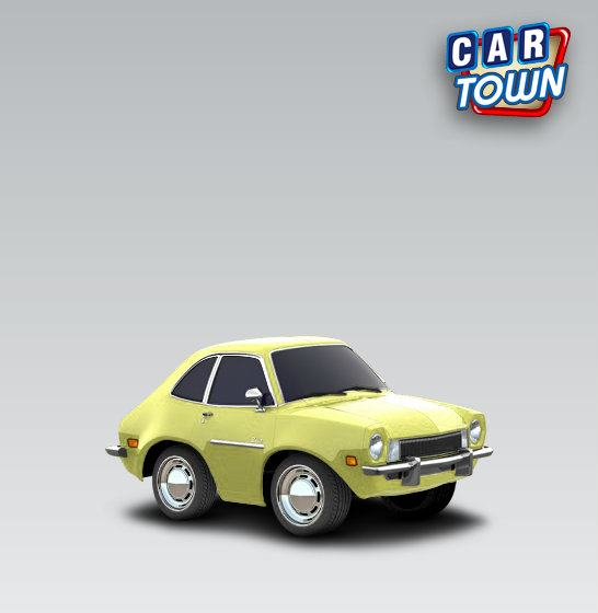 Car town gamers skin Ford Pinto 1973