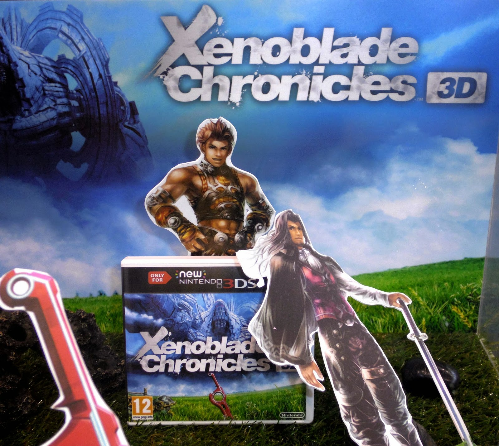 xenoblade chronicles new 3ds japan weekend